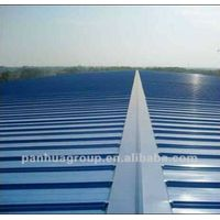 painted steel roofing