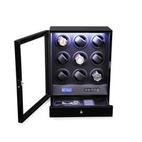 9 Rotors Automatic Watch Winder with LED Light thumbnail image