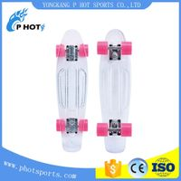 22 inch PC fish board penny board plastic skate board Hot skateboard thumbnail image