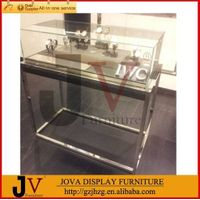 Top quality extra clear jewelry store glass display case for jewelry thumbnail image