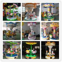 kiddie ride carousel, park rides, merry go round thumbnail image