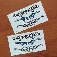 non toxic high quality temporary tattoo sticker