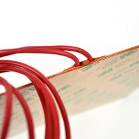 200200Mm Electric Flexible 24V 200W Silicone Rubber Heater Pad With 3M Adhesive thumbnail image
