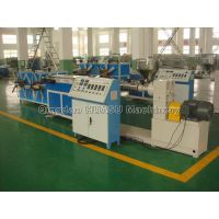 PE/PVC single wall corrugated pipe machine