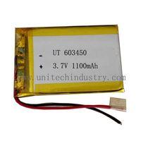 Lithium polymer battery Pack 603450 1100mAh 3.7V lipo battery