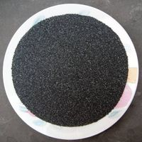 Silicon carbide grits, powder