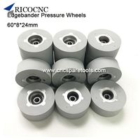 60x8x24mm Edgebander Pressure Roller Wheels for Edge Banding Machine