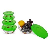 Microwave cheapest fresh glass bowl 5 pieces