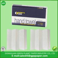 1 ply white virign super absorbency compact towel