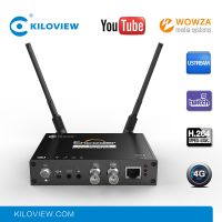 Kiloview h.264 4g wifi iptv live streaming server hd sdi to ip rtmp rtsp video encoder hardware thumbnail image