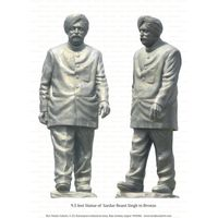 9.5 Feet Bronze Statue Of Sardar Beant Singh (Ex. Chief Minister Of Punjab)