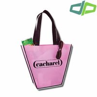 Folding non woven shopping bags