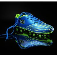 HOBIBEAR 2015 blue wholesale youth soccer cleats for boys