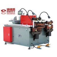Multi station hydraulic busbar bending machine for electrical cabinet