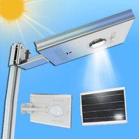 Integrated Solar Garden Light