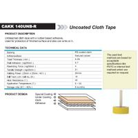 Uncoated Cloth Tape (CAKK 140UNB-R)