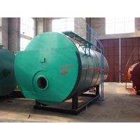Fully automatic oil/gas fired boiler