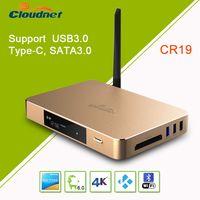 RK3399 Rockchip 64 bit Penta Cora HDR10 and HLG HDR 4K2K 60FPS 10 bit coding Android 6.0 TV box thumbnail image