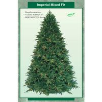 Mixed Artificial Christmas trees with Led thumbnail image
