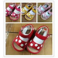 Baby squeaky sandals