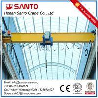 1 year warrenty for lda model light duty hoist travelling single beam girder bridge overhead crane a thumbnail image
