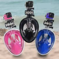 Newest full face tribord easybreath snorkeling mask Rounded screen