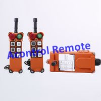 Popular Two transmitter with 1 receiver 6 button industrial radio remote control thumbnail image