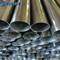 China Manufacturer SUS 304 Welded Stainless Steel Pipe Price thumbnail image