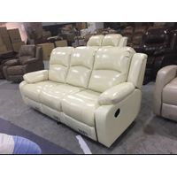Public leather home theater sofa FOR Supply