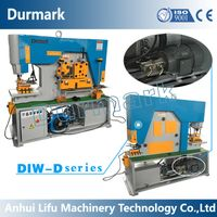 Diw-65t Hydraulic Ironworker, Hydraulic Iron Worker, Multifunctional Ironworker