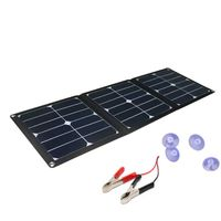 Hovall 42 Watt Folding Solar Charger with Dual Outputs thumbnail image