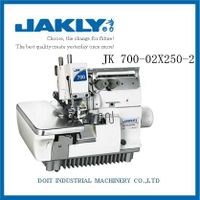 JK700-02X250 SUPER HIGH-SPEED FOUR-THREAD DOUBLE CHAIN ROLLING OVERLOCK SEWING MACHINE
