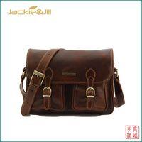 Vintage Messenger Bag Leather Bags For Men New Travel Leather Bag f7322cde09708