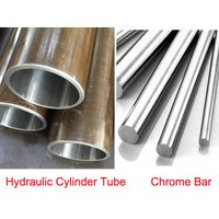 hydraulic cylinder honed tube and chrome bar