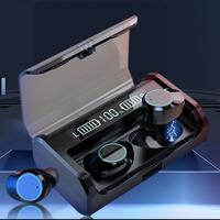 Best Sport IPX7 TWS Wireless Bluetooth Black Earphone thumbnail image