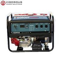 Wholesale 6500 Watts Air Cooled Petrol Generator for Emergency