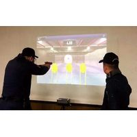 Hivista Laser Shooting Interactive Projection System Built-in Virtual Targets, Automatically Timing