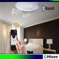 Sell cheap intelligent IR Remote Control Adjustable Lighting LED Ceiling Light with Bluetooth Spe thumbnail image