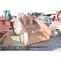 """USED """"KOBELCO"""" VFGH TYPE 1220MM X 3660MM (4' x 12') VIBRATING GRIZZLY FEEDER thumbnail image"""
