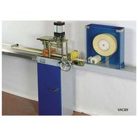 vertical blind vanes  cutting machines /feeding vanes by hand