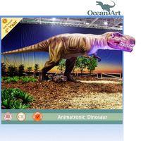 giant playground animatronic dinosaur