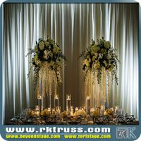 Outstage backgroud pipe and drape Pipe and Drape Kits with White Drape for events/wedding/exhibition