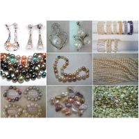 Fresh Water Pearl Jewelry,Beads,Pendant,Necklace,Earring