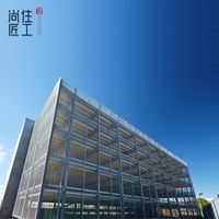 pre-engineered steel structure office building