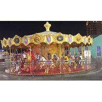 New designed carousel for amusement park