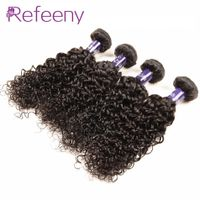 "Deep wave brazilian hair 4 bundles cheap deep wavy virgin hair weave 4 piece lot 8-30"" unprocessed b"