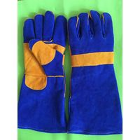 industrial leather safety glove for welding reinforced rugged wear work gloves