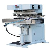 TY-15S6-90 6-color ink cup pad printing machine with shuttle