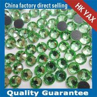 W0906 Cheap Peridot hot fix dmc rhinestone,China supplier dmc crystal