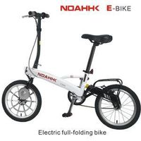 folding electric bicycle thumbnail image